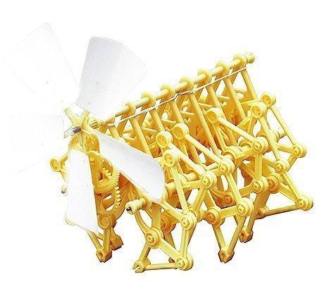 エレンコ ロボット 電子工作 知育玩具 パズル 【送料無料】Elenco EDU-62221 Jr. Scientist Strandbeest Model Kitエレンコ ロボット 電子工作 知育玩具 パズル