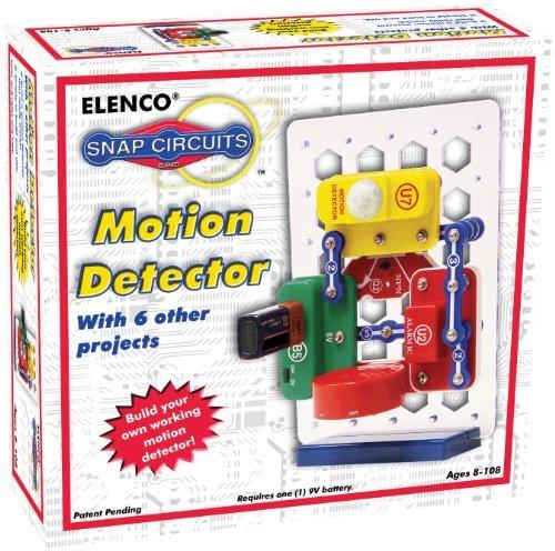 エレンコ ロボット 電子工作 知育玩具 パズル Snap Circuits Motion Detector Kit by Elencoエレンコ ロボット 電子工作 知育玩具 パズル