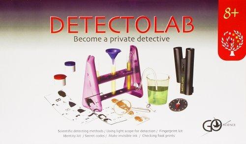 エレンコ ロボット 電子工作 知育玩具 パズル Elenco Detectolab Crime Scene Investigator Lab Kit by Elencoエレンコ ロボット 電子工作 知育玩具 パズル