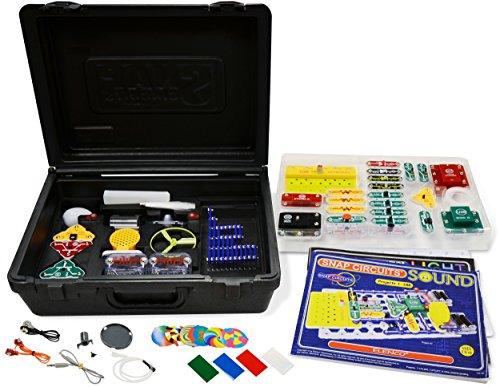エレンコ ロボット 電子工作 知育玩具 パズル 756619010434 【送料無料】Elenco Electronics Snap Circuits R Deluxe Sound & Light Comboエレンコ ロボット 電子工作 知育玩具 パズル 756619010434