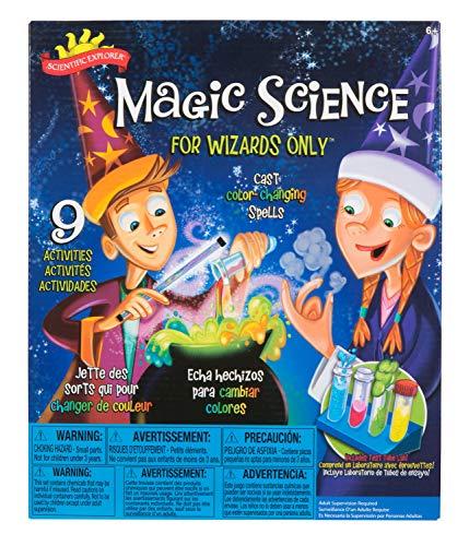 サイエンティフィックエクスプローラー 知育玩具 化学 科学 教育 A247 【送料無料】Scientific Explorer Scientific Explorer Magic Science for Wizards Only Kids Science Kitサイエンティフィックエクスプローラー 知育玩具 化学 科学 教育 A247