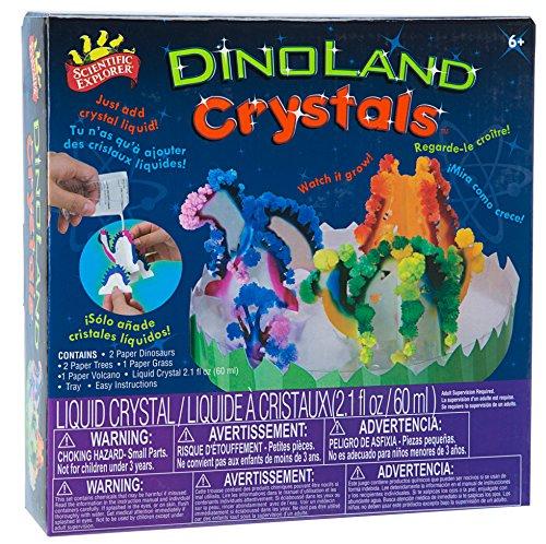 サイエンティフィックエクスプローラー 知育玩具 化学 科学 教育 967 【送料無料】Scientific Explorer Dinoland Crystalsサイエンティフィックエクスプローラー 知育玩具 化学 科学 教育 967