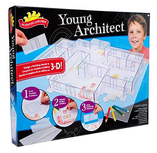 サイエンティフィックエクスプローラー 知育玩具 化学 科学 教育 8701 Scientific Explorer Young Architect Building Setサイエンティフィックエクスプローラー 知育玩具 化学 科学 教育 8701