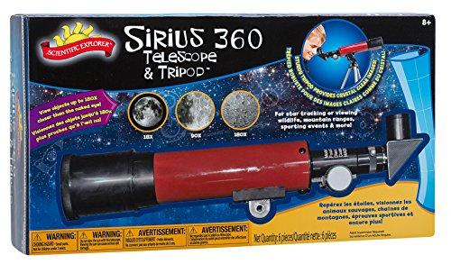 サイエンティフィックエクスプローラー 知育玩具 化学 科学 教育 0SA400BL Scientific Explorer Sirius 360 Telescope and Tripodサイエンティフィックエクスプローラー 知育玩具 化学 科学 教育 0SA400BL