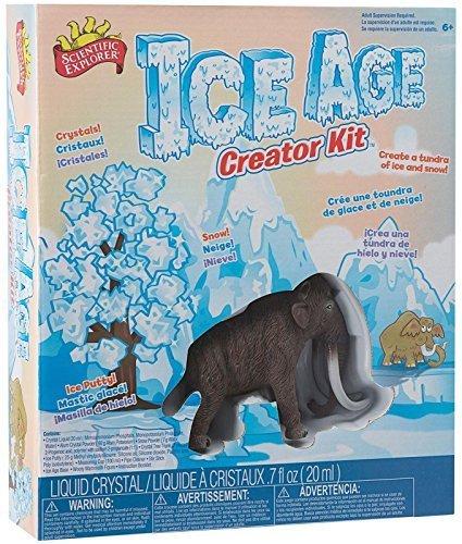 サイエンティフィックエクスプローラー 知育玩具 化学 科学 教育 Scientific Explorer Ice Age Creator Kit by Scientific Explorerサイエンティフィックエクスプローラー 知育玩具 化学 科学 教育