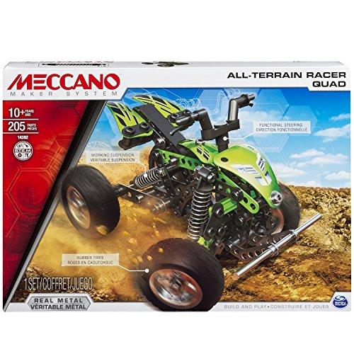 アンクルミルトン 知育玩具 科学 20070937 Meccano All Terrain Racer Quad Model Setアンクルミルトン 知育玩具 科学 20070937
