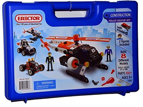 アンクルミルトン 知育玩具 科学 Erector Construction Police Rescue Setアンクルミルトン 知育玩具 科学
