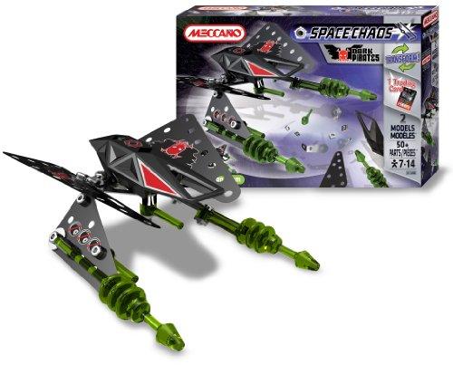 アンクルミルトン 知育玩具 科学 803150B Meccano - 803150B - Jeu de Construction - Space Chaos - Raider Dark Piratesアンクルミルトン 知育玩具 科学 803150B