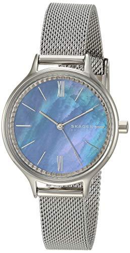腕時計 スカーゲン レディース 【送料無料】Skagen Women's Anita Quartz Analog Stainless Steel and Stainless Steel Mesh Watch, Color: Silver (Model: SKW2862)腕時計 スカーゲン レディース:angelica