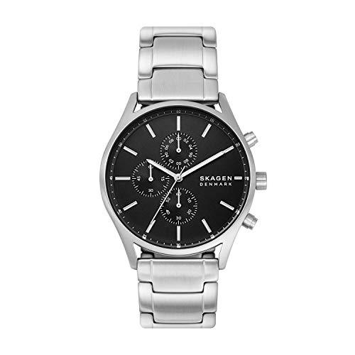スカーゲン 腕時計 レディース 【送料無料】Skagen Men's Quartz Watch with Stainless Steel Strap, Silver, 22 (Model: SKW6609)スカーゲン 腕時計 レディース