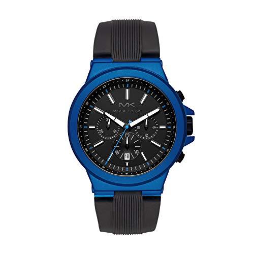 マイケルコース 腕時計 メンズ マイケル・コース アメリカ直輸入 【送料無料】Michael Kors Men's Dylan Stainless Steel Quartz Watch with Rubber Strap, Black, 26 (Model: MK8761)マイケルコース 腕時計 メンズ マイケル・コース アメリカ直輸入