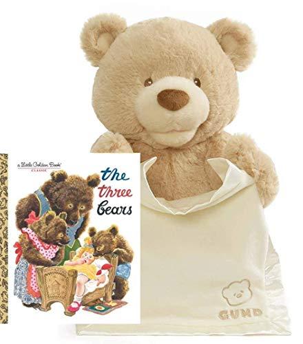 18%OFF 無料ラッピングでプレゼントや贈り物にも 逆輸入並行輸入送料込 ガンド ぬいぐるみ リアル 日本限定 お世話 かわいい 送料無料 Bear Setガンド Cream Peek-A-Boo Animated 11.5