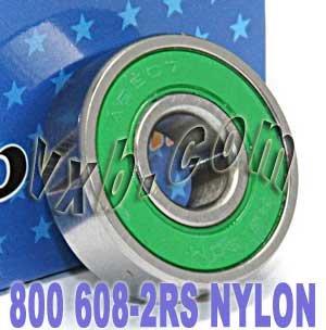 ベアリング スケボー スケートボード 海外モデル 直輸入 【送料無料】800 Skateboard/in-line/Skate Bearing Nylon Cage Sealed Ball Bearingsベアリング スケボー スケートボード 海外モデル 直輸入