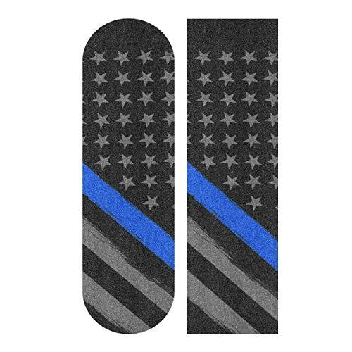 無料ラッピングでプレゼントや贈り物にも 逆輸入並行輸入送料込 デッキテープ グリップテープ スケボー スケートボード 海外モデル 送料無料 Decopik Thin Blue Printed Grip Sheet Flag Line Griptapeデッキテープ Longboard 正規激安 Skateboard Tactical お得 Tape