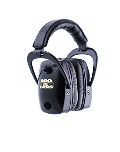 イヤーマフ シューティング ハンティング サバイバルゲーム サバゲー 【送料無料】Pro Ears - Pro Slim Gold - Electronic Hearing Protection and Amplification - NRR 28 - Ear Muffs - Blaイヤーマフ シューティング ハンティング サバイバルゲーム サバゲー