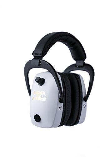 イヤーマフ シューティング ハンティング サバイバルゲーム サバゲー 【送料無料】Pro Ears - Pro Slim Gold - Electronic Hearing Protection and Amplification - NRR 28 - Ear Muffs - Whiイヤーマフ シューティング ハンティング サバイバルゲーム サバゲー