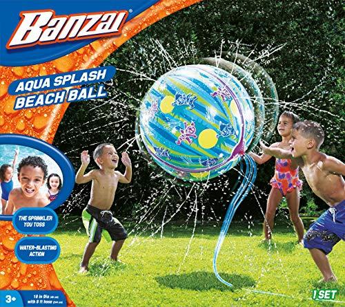 プール ビニールプール ファミリープール オーバルプール 家庭用プール 【送料無料】Banzai 12918 Splash Beach Ball, Multi-Coloredプール ビニールプール ファミリープール オーバルプール 家庭用プール
