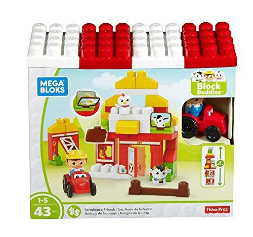 メガブロック メガコンストラックス 組み立て 知育玩具 【送料無料】Mega Bloks Farmhouse Friends Building Setメガブロック メガコンストラックス 組み立て 知育玩具