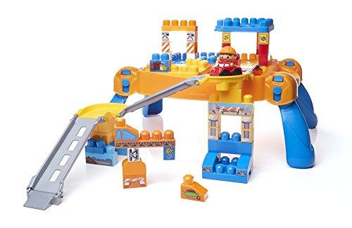メガブロック メガコンストラックス 組み立て 知育玩具 【送料無料】Mega Bloks First Builders Build N' Go Table Building Blocksメガブロック メガコンストラックス 組み立て 知育玩具
