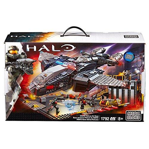 メガブロック メガコンストラックス 組み立て 知育玩具 【送料無料】Mega Bloks Halo NMPD Pelican Air Base Set #38761メガブロック メガコンストラックス 組み立て 知育玩具
