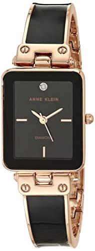 アンクライン 腕時計 レディース 【送料無料】Anne Klein Women's Genuine Diamond Dial Bangle Watch, AK/3636アンクライン 腕時計 レディース