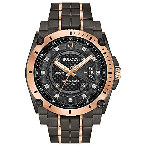 腕時計 ブローバ メンズ 【送料無料】Bulova Men's Analogue Quartz Watch with Stainless Steel Strap 98D149腕時計 ブローバ メンズ
