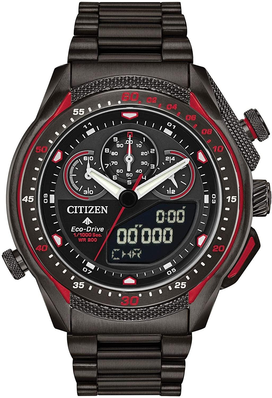 腕時計 シチズン 逆輸入 海外モデル 海外限定 【送料無料】Men's Citizen Eco-Drive Promaster SST Grey Ion-Plated Watch JW0137-51E腕時計 シチズン 逆輸入 海外モデル 海外限定
