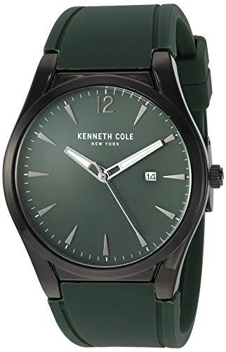 腕時計 ケネスコール・ニューヨーク Kenneth Cole New York メンズ 【送料無料】Kenneth Cole New York Men's Classic Japanese Quartz Sport Watch with Silicone Strap, Grey, 23 (Model: KC51腕時計 ケネスコール・ニューヨーク Kenneth Cole New York メンズ
