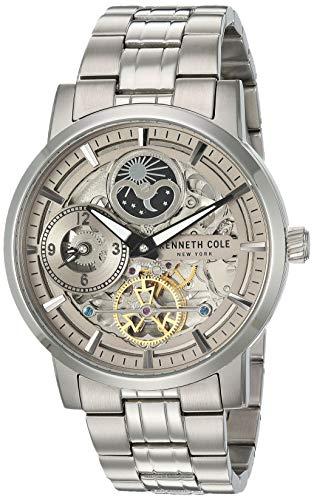 ケネスコール・ニューヨーク Kenneth Cole New York 腕時計 メンズ 【送料無料】Kenneth Cole New York Men's Automatic Japanese-Quartz Watch with Stainless-Steel Strap, Silver, 22 (Model:ケネスコール・ニューヨーク Kenneth Cole New York 腕時計 メンズ