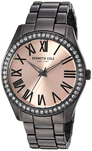 ケネスコール・ニューヨーク Kenneth Cole New York 腕時計 レディース 【送料無料】Kenneth Cole New York Women's Classic Stainless Steel Analog-Quartz Watch with Alloy Strap, Grey, ケネスコール・ニューヨーク Kenneth Cole New York 腕時計 レディース