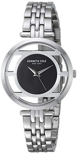 ケネスコール・ニューヨーク Kenneth Cole New York 腕時計 レディース 【送料無料】Kenneth Cole New York Women's Transparency Japanese-Quartz Watch with Stainless-Steel Strap, Silveケネスコール・ニューヨーク Kenneth Cole New York 腕時計 レディース