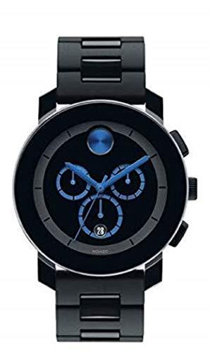 腕時計 モバード メンズ 【送料無料】Movado Bold, TR90 Stainless Steel Case, Black Dial, Stainless Steel Bracelet, Black, Men, 3600101腕時計 モバード メンズ