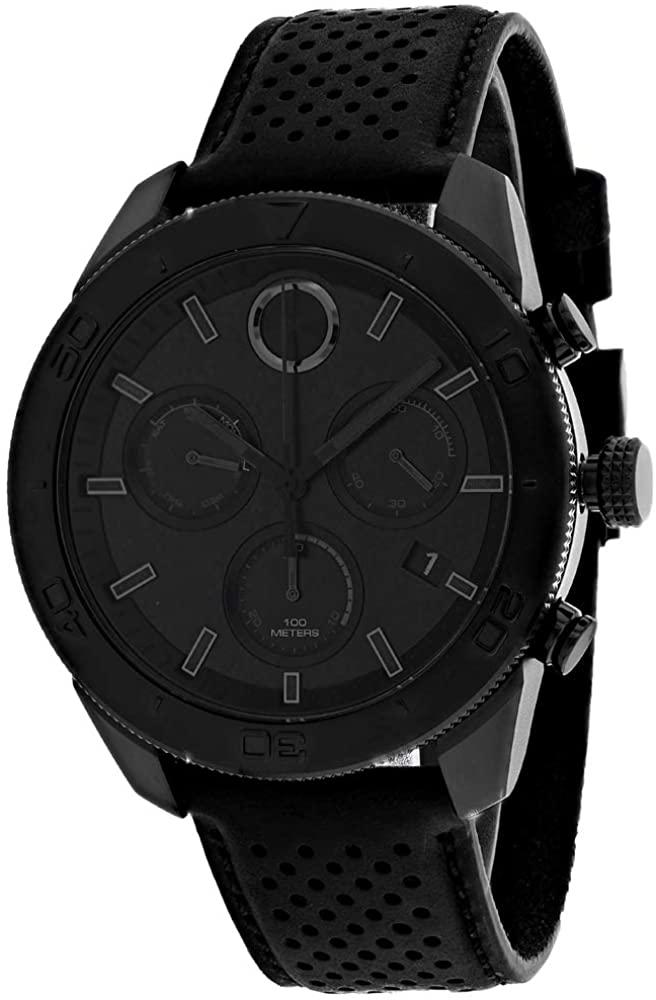 モバード 腕時計 メンズ 【送料無料】Movado Men's Black Dial Watch - 3600517モバード 腕時計 メンズ
