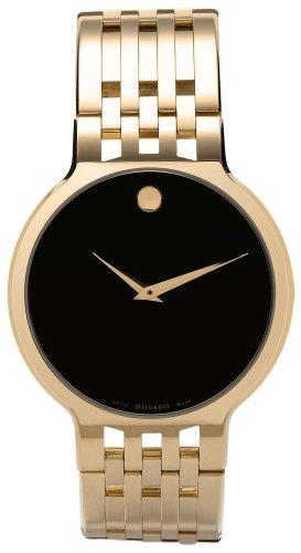 モバード 腕時計 メンズ 【送料無料】Movado Men's 606068 Esperanza Gold-Plated Stainless-Steel Watchモバード 腕時計 メンズ