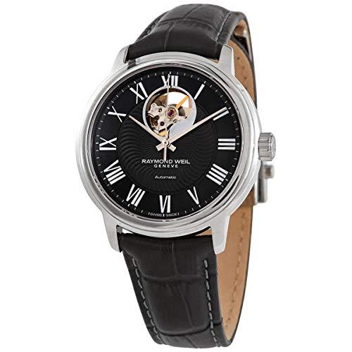 レイモンドウィル 腕時計 メンズ スイスの高級腕時計 【送料無料】Raymond Weil Maestro Open Heart Automatic Grey Dial Men's Watch 2227-STC-00609レイモンドウィル 腕時計 メンズ スイスの高級腕時計