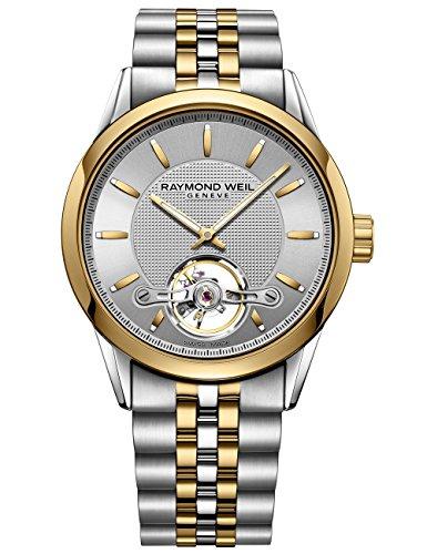 腕時計 レイモンドウィル メンズ スイスの高級腕時計 【送料無料】Raymond Weil Men's 2780-STP-65001 Freelancer Analog Display Swiss Automatic Two Tone Watch腕時計 レイモンドウィル メンズ スイスの高級腕時計