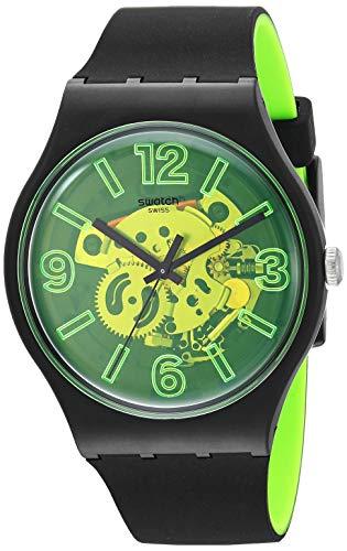 【送料無料】 腕時計 スウォッチ Casual メンズ【送料無料】Swatch 1907 BAU Quartz メンズ 20 Silicone Strap, Black, 20 Casual Watch (Model: SUOB166)腕時計 スウォッチ メンズ, JPLAMP:6e466931 --- hi-tech-automotive-repair.demosites.myshopmanager.com