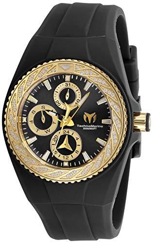 テクノマリーン 腕時計 レディース 【送料無料】Technomarine TM-118113 Women's Cruise Glitz Gold with Black Dial Watchテクノマリーン 腕時計 レディース