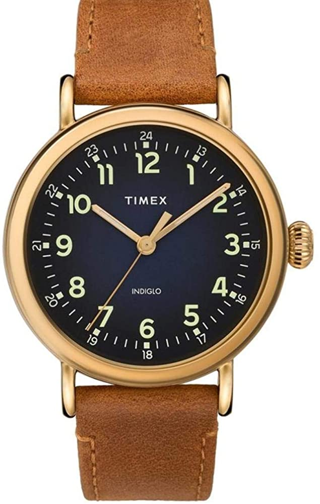 腕時計 タイメックス メンズ 【送料無料】Timex Standard Quartz Movement Blue Dial Men's Watch TW2T20000腕時計 タイメックス メンズ