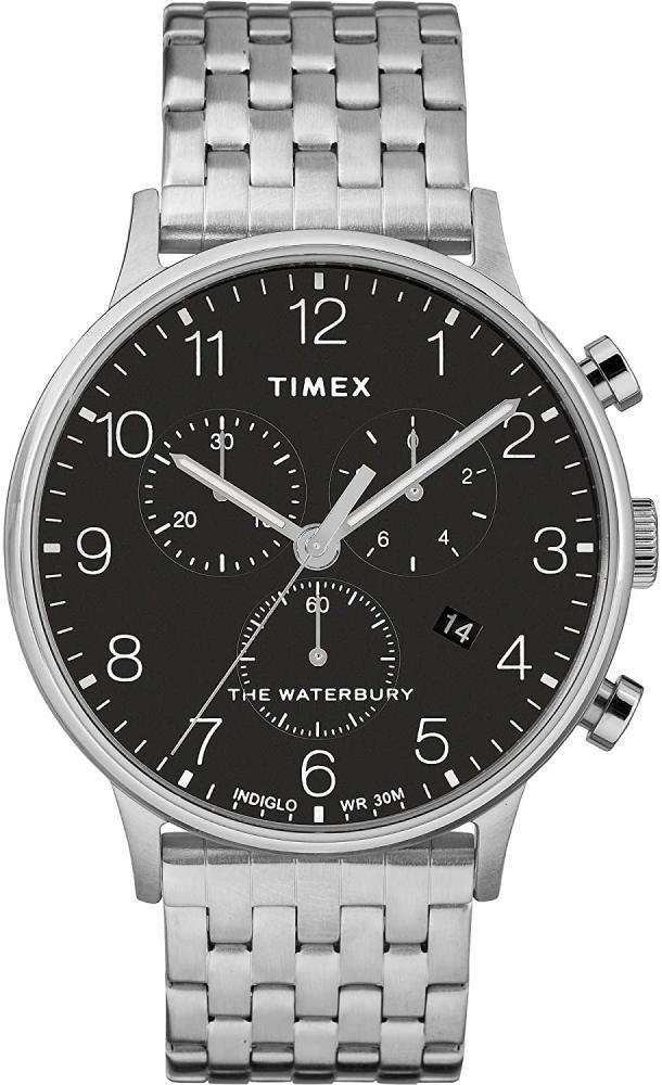 タイメックス 腕時計 メンズ 【送料無料】Timex (Black - Steel)タイメックス 腕時計 メンズ