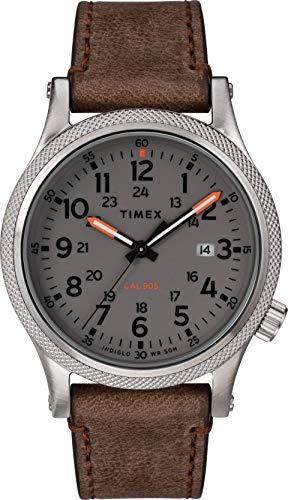 タイメックス 腕時計 メンズ 【送料無料】Timex Allied LT 40 mm Leather Strap Watch TW2T33300タイメックス 腕時計 メンズ