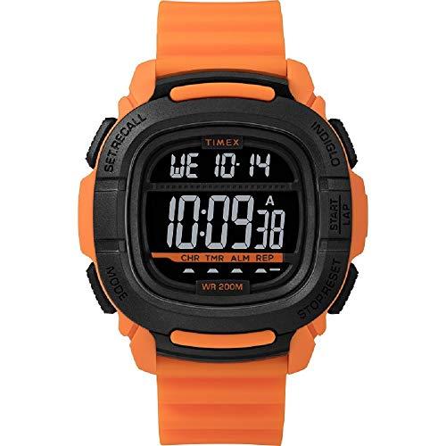 腕時計 タイメックス メンズ 【送料無料】Timex Command(tm) 47 mm Orange Silicone Watch TW5M26500腕時計 タイメックス メンズ