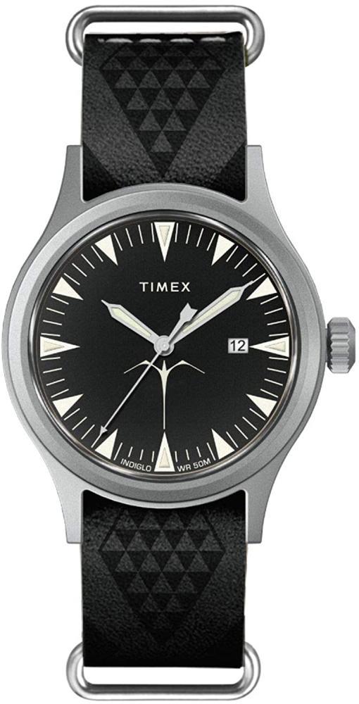 腕時計 タイメックス メンズ 【送料無料】Timex x Keone Nunes Nihoniho 40 mm Leather Strap Watch TW2T81500腕時計 タイメックス メンズ