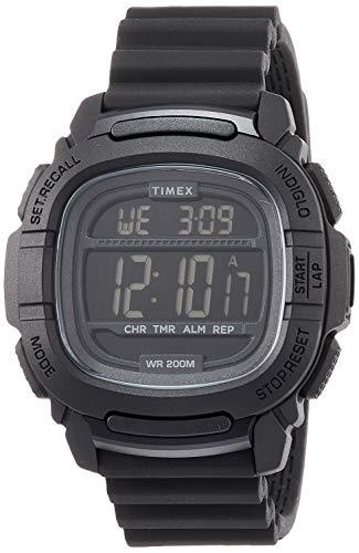 腕時計 タイメックス メンズ 【送料無料】Timex Command(tm) 47 mm Black Silicone Quartz Sport Watch TW5M26100腕時計 タイメックス メンズ