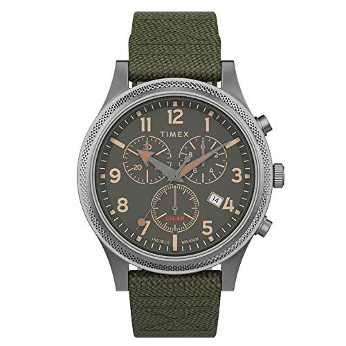 タイメックス 腕時計 メンズ 【送料無料】Timex Allied LT Chronograph Silver/Green/Green One Sizeタイメックス 腕時計 メンズ
