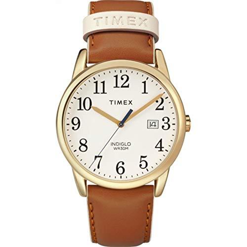 腕時計 タイメックス メンズ 【送料無料】Timex Women's Easy Reader Color Pop 38mm Leather |Tan| Casual Watch TW2R62700腕時計 タイメックス メンズ