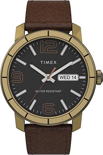 タイメックス 腕時計 レディース 【送料無料】Timex Mod44 44mm Leather Strap Watch - Gold/Brown/Black - TW2T72700タイメックス 腕時計 レディース