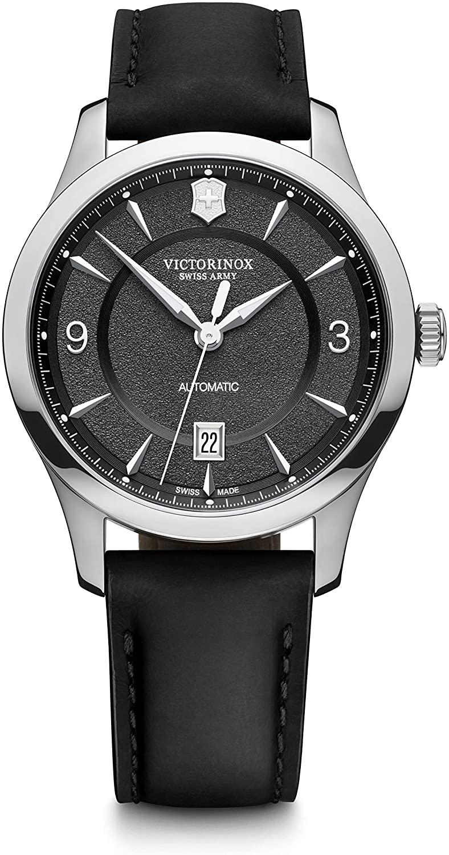 ビクトリノックス スイス 腕時計 メンズ 【送料無料】Victorinox Alliance Mechanical Automatic Black Dial Men's Watch 241869ビクトリノックス スイス 腕時計 メンズ
