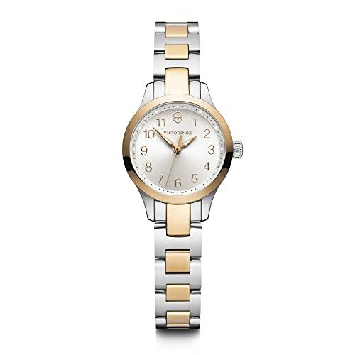 腕時計 ビクトリノックス スイス メンズ 【送料無料】Victorinox Alliance XS Two-Tone, Silver dial, Stainless Steel Bracelet腕時計 ビクトリノックス スイス メンズ