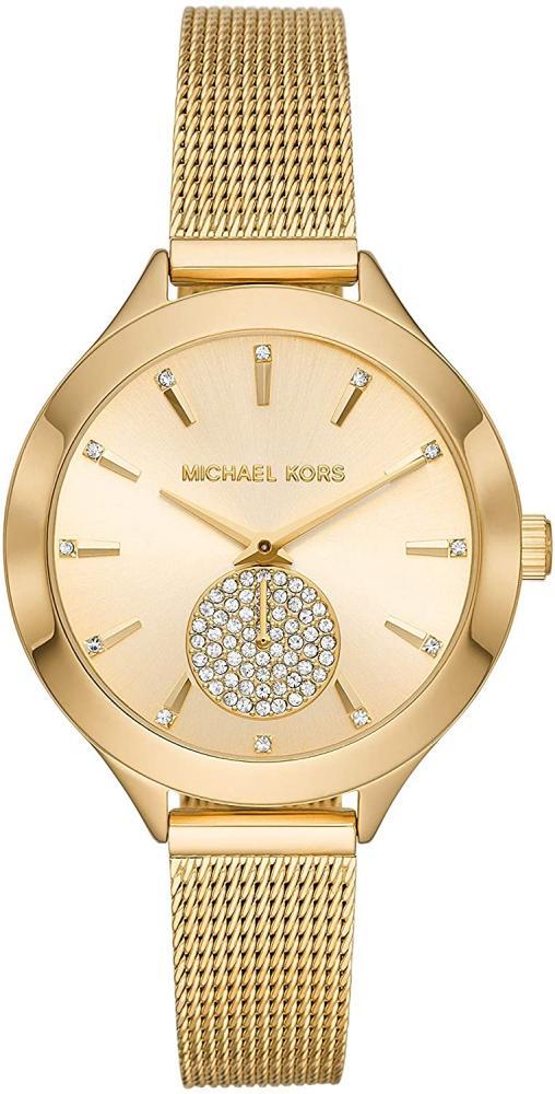 マイケルコース 腕時計 レディース マイケル・コース アメリカ直輸入 【送料無料】Michael Kors Women's Slim Runway Three-Hand Gold-Tone Stainless Steel Watch MK3920マイケルコース 腕時計 レディース マイケル・コース アメリカ直輸入